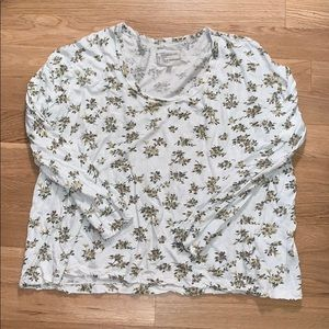 Current/Elliott Long Sleeve Shirt